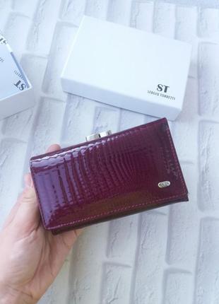 Женский кошелек кожаный жіночий шкіряний гаманець
