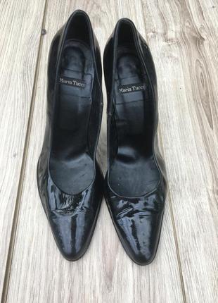 Стильные актуальные лаковые туфли лак maria tucci zara h&m massimo dutti босоножки лодочки