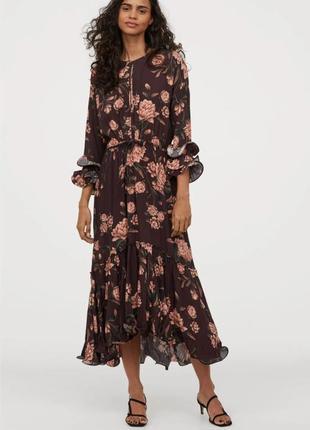 Бесподобное нарядное платье johanna ortiz x h&m