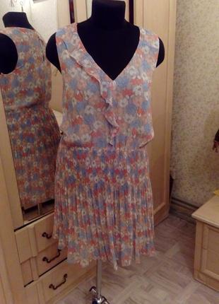 Нежное летнее платье в пастельных тонах
