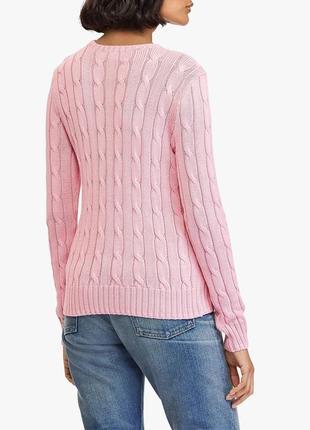 Нежный , качественный пудровый свитер, джемпер polo ralph lauren, оригинал