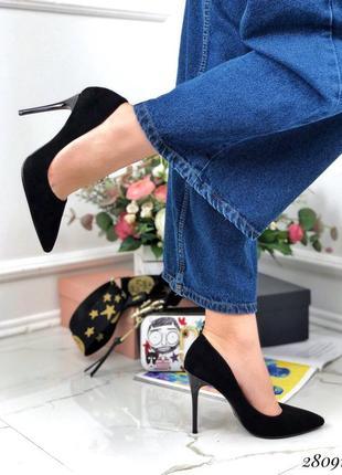 Туфли замшевые comer