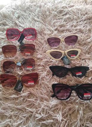 Окуляри солнцезащитные очки 🕶️ большые лисички
