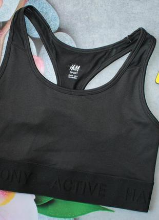 Новый спортивный топ для девочки h&m из текущей коллекции. размер 10-12 лет и 12-14 лет