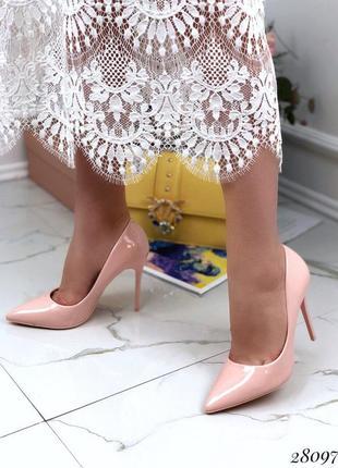 Туфли лодочки пудра