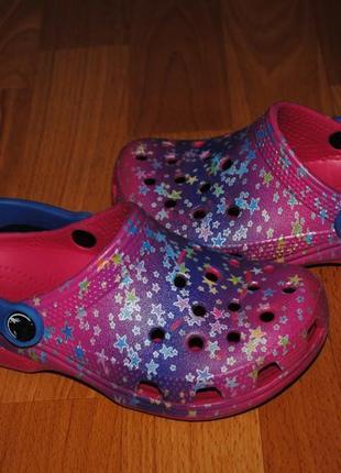 Тапки crocs 19 см