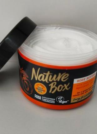 Nature boxувлажняющее масло крем для тела и рук