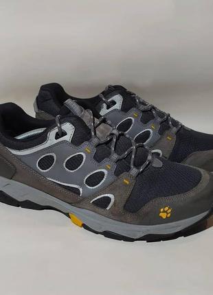 Jack wolfskin оригинал трекинговые кроссовки ботинки для повсед. ношения размер 45.5