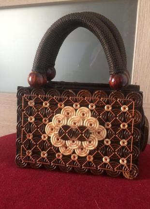 Стильная микро сумочка