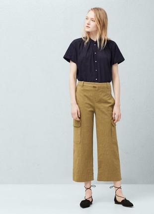 Новые брюки штаны карго mango