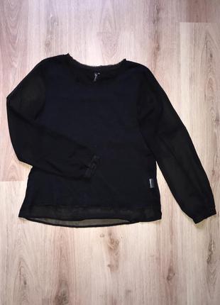 Нарядный свитерок со вставками