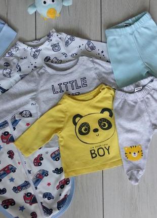 Набор одежды для новорожденного малыша/мальчика