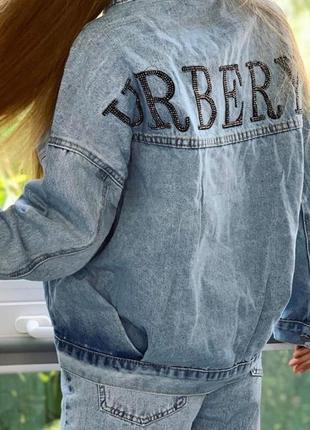 Джинсовка куртка джинсовая