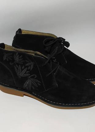 Hush puppies оригинал замшевые ботинки размер 43