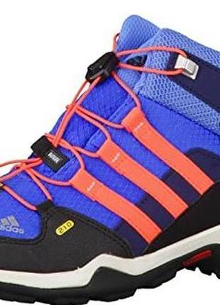 Ботинки термо кроссовки adidas terrex mid 38,5