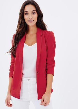 Стильный жакет пиджак фактурная ткань