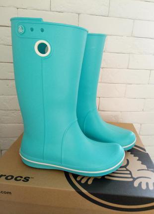 Сапоги резиновые crocs crocband jaunt boot w7 (р-р 37)