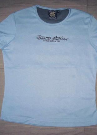 Iguana outdoor (m/40) спортивная треккинговая футболка женская
