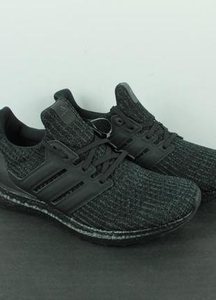 Оригинальные кроссовки adidas ultra boost 4.0 triple black