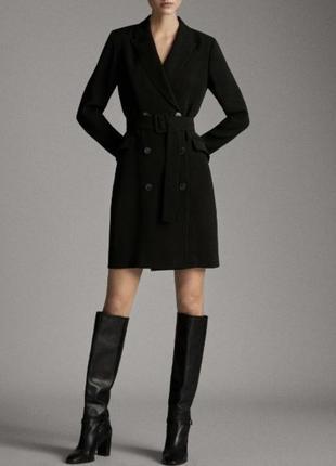Новое лаконичное платье massimo dutti 36 eur / s размер 🖤😎