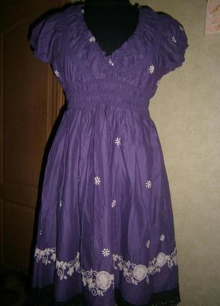 Платье ltb basic deluxe мр ( 8-10)интересное  легкое нежное