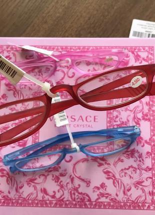 Стильные цветные очки для зрения коррекция
