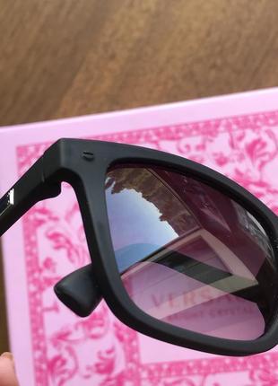 Черные матовые очки солнце защитные очки
