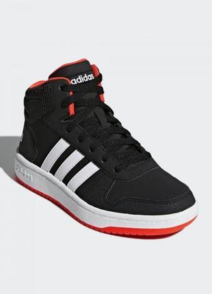 Баскетбольные кроссовки adidas hoops 2.0 mid b75743