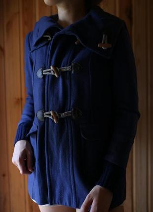 Стильное пальто на пуговицах и с капюшоном asos