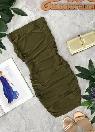 Пикантное платье по фигуре из микротрикотажа с глянцевым отблеском  dr1827129  missi