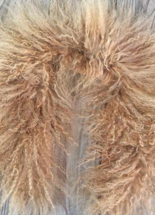 Комір, мех натуральна лама
