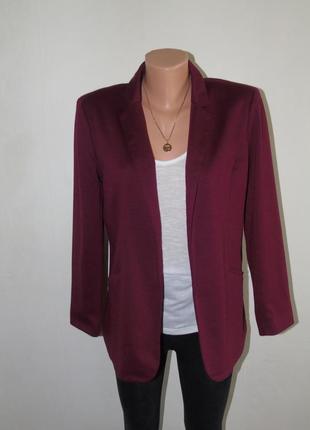 Трикотажный пиджак 12 размера