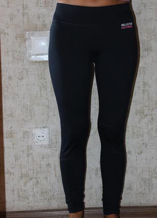 Спортивные леггинсы лосины hollister california, размер s
