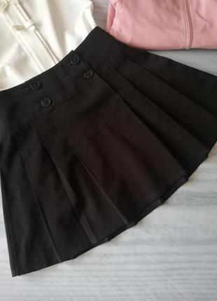 Черная юбка tu на 6-7-8 лет. 122-128