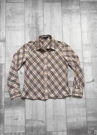 Burberry сорочка рубашка в клітинку 🔥