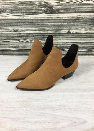Женские фирменные туфли сапоги на каблуке zara trafaluc 3108/101/105/2693 h&m gabor!