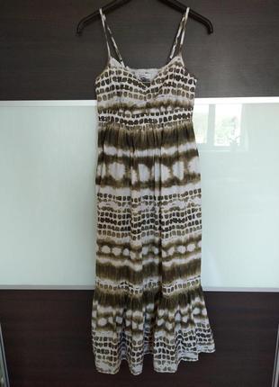 Летний котоновый сарафан платье jessica c&a