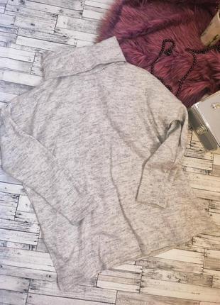 Кофта свитер свитшот теплый с горлом new look
