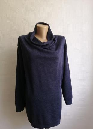 Шерстяное платье свитер туника  cos, оверсайз из 100% шерсти lana,размер s,m,l