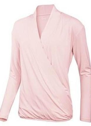 Трикотажная блузка-футболка с длинным рукавом crivit