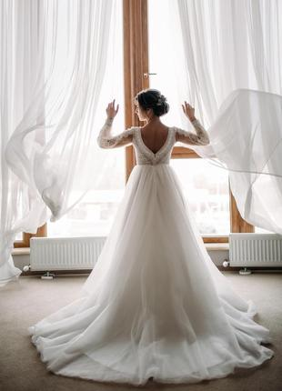 Свадебное платье agata известного бренда vero bloom колллекция 2020 года