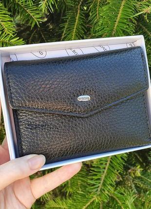 Компактний шкіряний жіночий гаманець dr.bond
