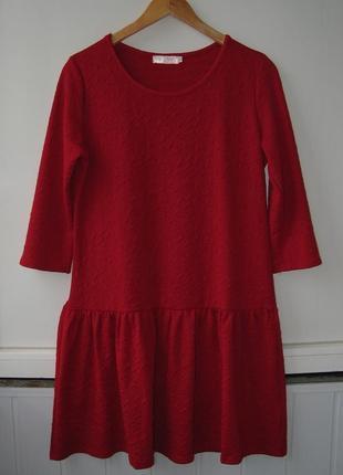 Платье фактурное
