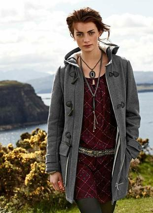 Шерстяное пальто-дафлкот tcm tchibo woman