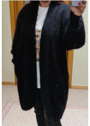 Кардиган-пальто shine/кардиган ангора shine