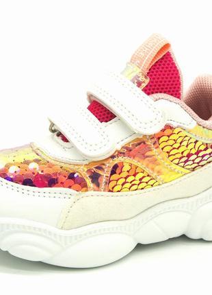 Кроссовки для девочек размеры:  21,22,23,24,25,26