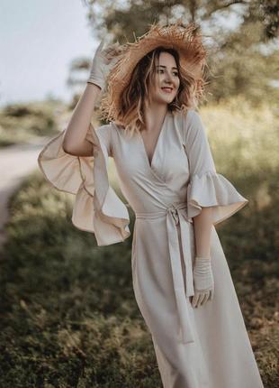 Льняное платье лён лен кимоно кардиган кимоно назапах льняне плаття сукня з льону кімоно
