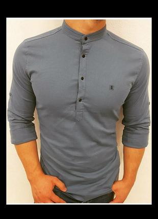 Рубашка поло,рукав трансформер.