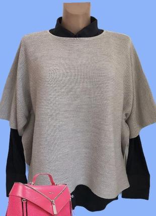 Стильный ♥️♥️♥️ шерстяной свитер джемпер оверсайз cos.