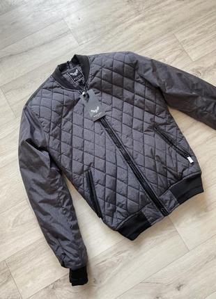 Куртка ветровка мужская от бренда brave soul, размер s